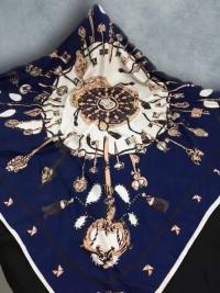 Шёлковый платок 100х100