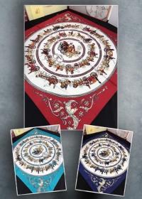 Шёлковый платок 70х70